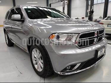 Dodge Durango 5P SXT PLUS V6 3.6L TA RA-18 usado (2015) color Plata precio $294,000