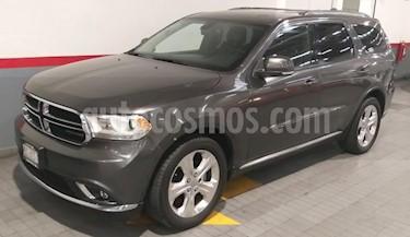 Dodge Durango 5P LIMITED V6 3.6L TA PIEL DVD GPS RA-20 usado (2014) color Gris precio $315,000