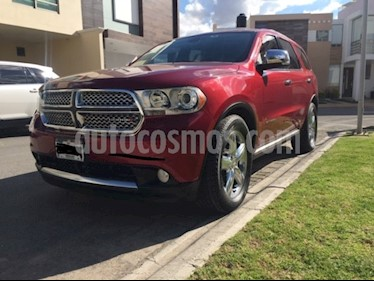 Dodge Durango 5.7L Citadel 4x4 V8  usado (2013) color Rojo precio $270,000