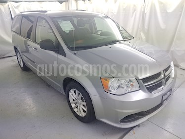 Dodge Grand Caravan SXT+ usado (2017) color Plata Martillado precio $329,000