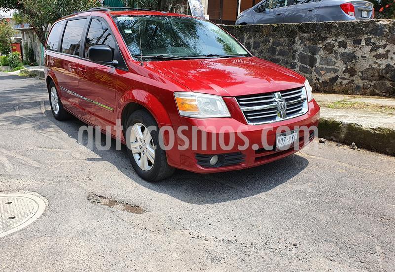 Dodge Grand Caravan SXT+ usado (2008) color Rojo precio $122,500