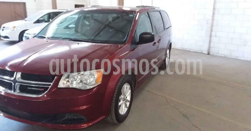 Dodge Grand Caravan SXT+ usado (2017) color Rojo precio $239,800
