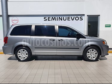 Dodge Grand Caravan SXT+ usado (2017) color Plata Martillado precio $359,000