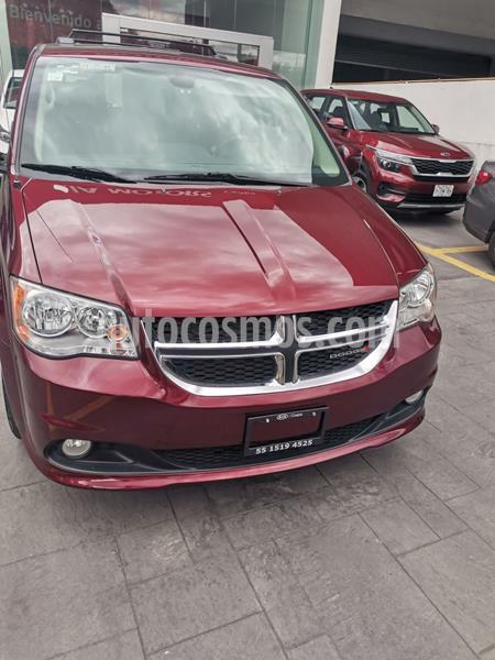 Dodge Grand Caravan SXT+ usado (2018) color Rojo precio $390,000