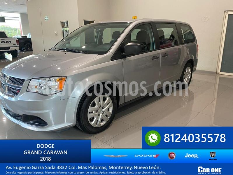 Dodge Grand Caravan SE usado (2018) color Plata Martillado precio $285,000