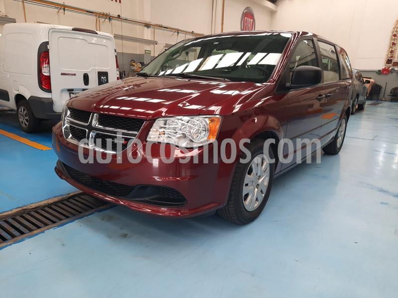 Dodge Grand Caravan SE usado (2017) color Rojo precio $299,000