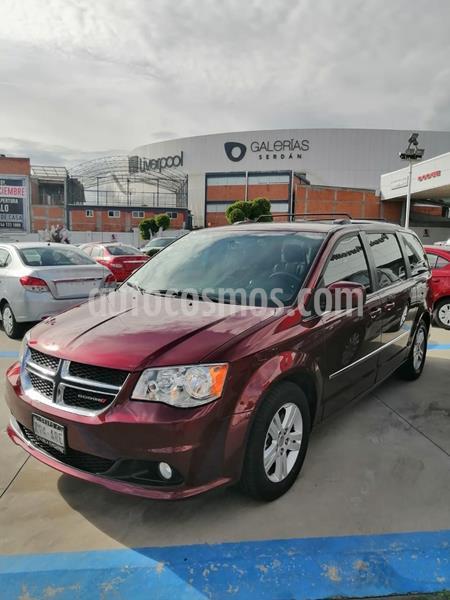 Dodge Grand Caravan SXT+ usado (2017) color Rojo Cobrizo precio $335,000