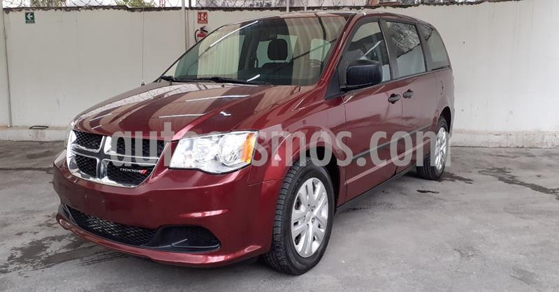 Dodge Grand Caravan SE usado (2017) color Rojo precio $259,900