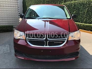 Foto venta Auto usado Dodge Grand Caravan SE (2017) color Rojo Cerezo precio $330,000