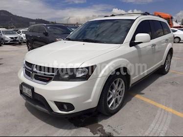 Foto venta Auto usado Dodge Journey 5p RT V6/3.6 Aut (2015) color Blanco precio $269,000