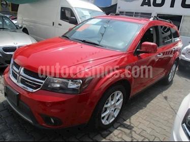 Foto venta Auto usado Dodge Journey 5p RT V6/3.6 Aut (2014) color Rojo precio $280,000