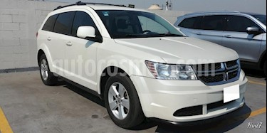 Foto venta Auto usado Dodge Journey 5p SE L4/2.4 Aut 5/Pas (2014) color Blanco precio $165,000