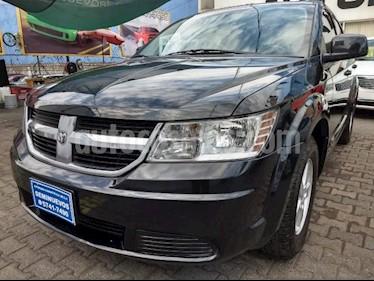 Foto venta Auto usado Dodge Journey 5p SXT 2.4L Aut  7 Pasajeros (2010) color Negro precio $165,000