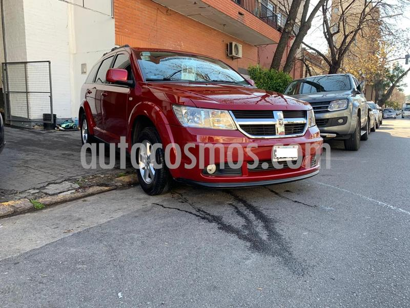Dodge Journey 2.4 Sxt Automatica usado (2011) color Bordo precio $990.000