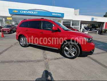 Dodge Journey SXT 2.4L 7 Pasajeros usado (2018) color Rojo Adrenalina precio $349,000