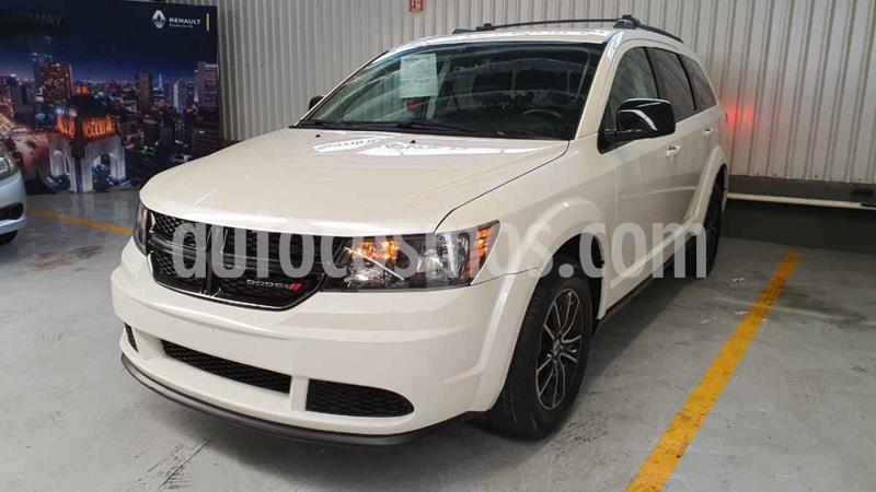 Dodge Journey SE 7 Pasajeros 2.4L usado (2018) color Blanco precio $295,000