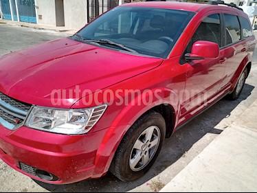 Dodge Journey SXT 2.4L 7 Pasajeros usado (2012) color Rojo Infierno precio $143,000