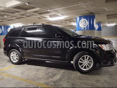 Dodge Journey SXT 2.4L 7 Pasajeros Plus usado (2015) color Negro precio $215,000