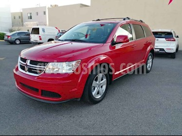 Dodge Journey 5p SE L4/2.4 Aut 7/Pas usado (2017) color Rojo precio $270,000