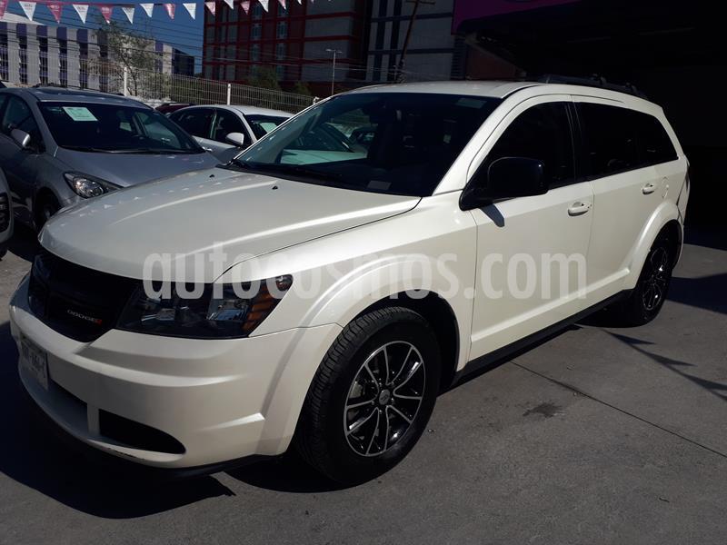 Dodge Journey SE 2.4L 7 Pasajeros usado (2018) color Blanco precio $322,000