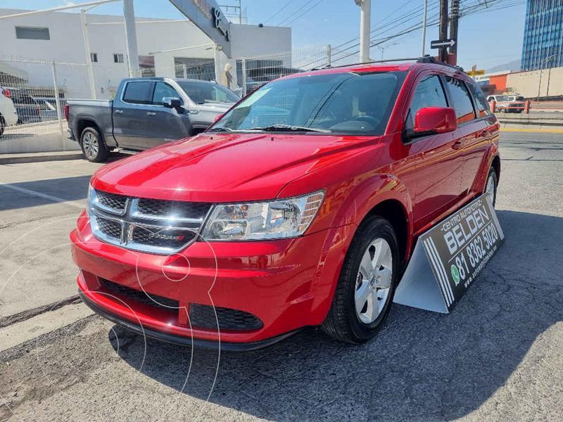 Foto Dodge Journey SE 2.4L usado (2015) color Rojo precio $228,000