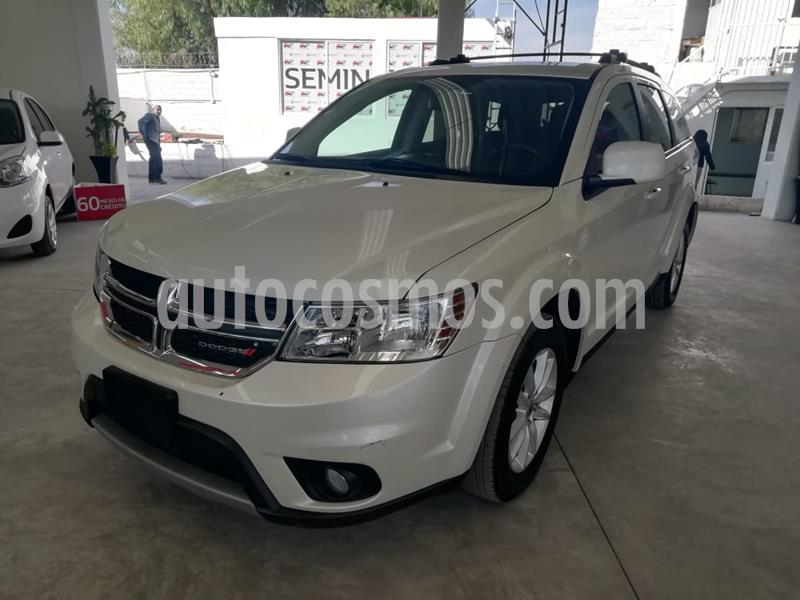 Dodge Journey SXT 2.4L 7 Pasajeros usado (2018) color Blanco Perla precio $350,000