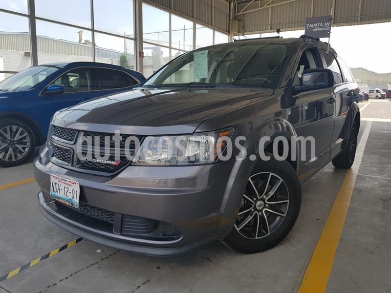 Dodge Journey SE 2.4L 7 Pasajeros usado (2018) color Gris Tormenta precio $325,000