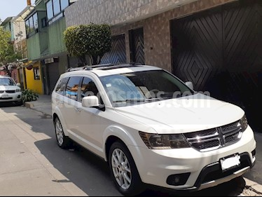 Dodge Journey R-T 3.6L NAV DVD usado (2009) color Blanco Perla precio $165,000
