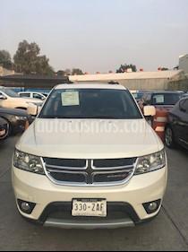 Dodge Journey SXT 2.4L 5 Pasajeros Plus usado (2014) color Blanco Perla precio $195,000
