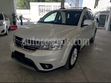 Dodge Journey SXT 2.4L 7 Pasajeros Lujo usado (2018) color Blanco Perla precio $368,000