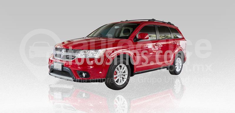 Dodge Journey SXT 2.4L 5 Pasajeros Plus usado (2017) color Rojo precio $285,000