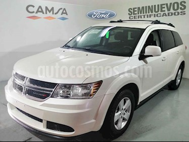 Dodge Journey 5p SE L4/2.4 Aut 5/Pas usado (2014) color Blanco precio $208,900