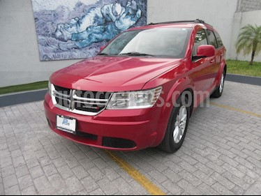Dodge Journey SXT 2.4L 5 Pasajeros Plus  usado (2013) color Rojo precio $170,000