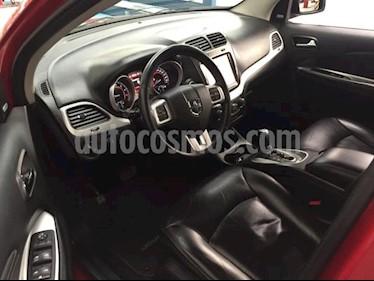 Dodge Journey 5P RT 3.6L TA 7 PAS. PIEL QC DVD GPS BL RA-19 usado (2015) color Rojo precio $250,000