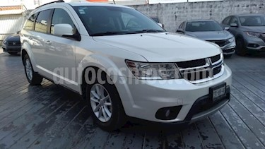 Dodge Journey 5P SXT 2.4L TA 7 PAS. VE BL RA-17 usado (2016) color Blanco precio $210,000