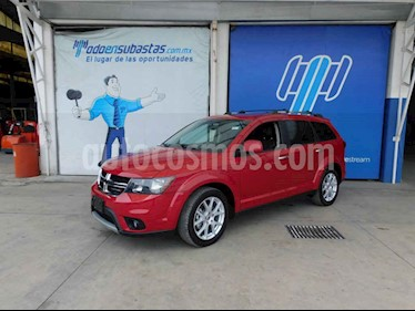 Dodge Journey 5p GT V6/3.6 Aut 7/Pas usado (2018) color Rojo precio $230,000