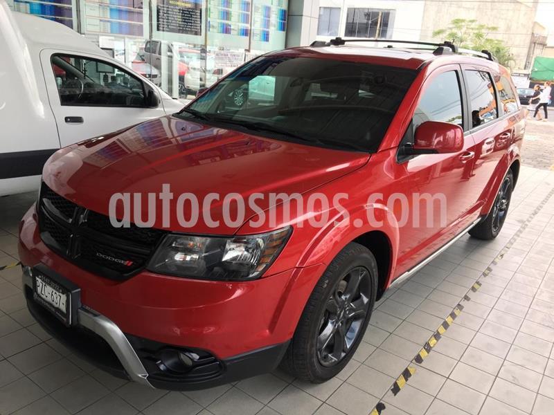 Dodge Journey SXT 2.4L 7 Pasajeros Lujo usado (2018) color Rojo precio $330,000