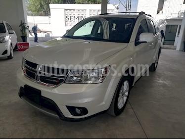 Dodge Journey SXT 2.4L 7 Pasajeros Lujo usado (2018) color Blanco precio $350,000