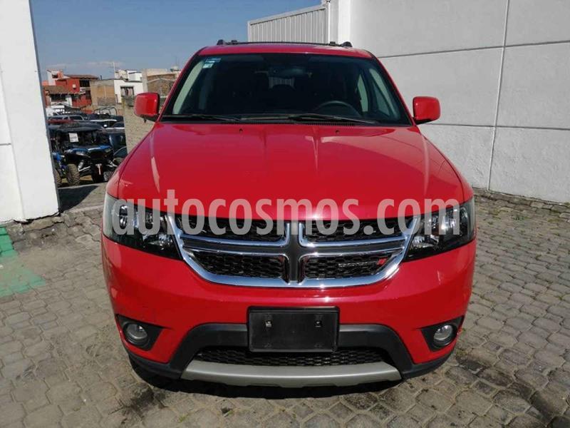 Dodge Journey SE 2.4L 7 Pasajeros usado (2018) color Rojo precio $335,000