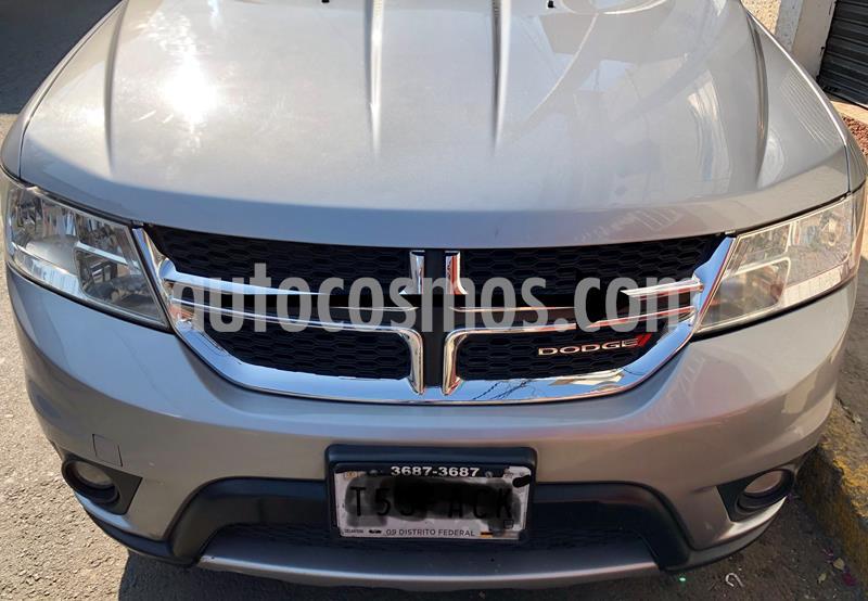 Dodge Journey SXT 2.4L 7 Pasajeros Plus usado (2015) color Plata precio $189,000