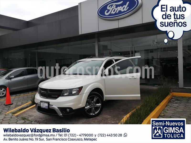 Dodge Journey SXT + 7 PAS SPORT usado (2017) color Blanco precio $280,000