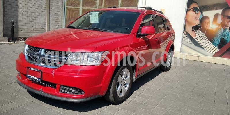 Dodge Journey SE 7 Pasajeros 2.4L usado (2016) color Rojo precio $218,000