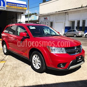Dodge Journey SXT 2.4L 7 Pasajeros Plus usado (2016) color Rojo Adrenalina precio $280,000