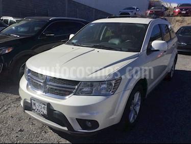 Dodge Journey 5p SXT Lujo L4/2.4 Aut 7/Pas usado (2017) color Blanco precio $288,000