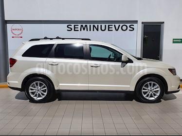 Dodge Journey SXT 2.4L 7 Pasajeros Plus usado (2018) color Blanco Perla precio $369,000