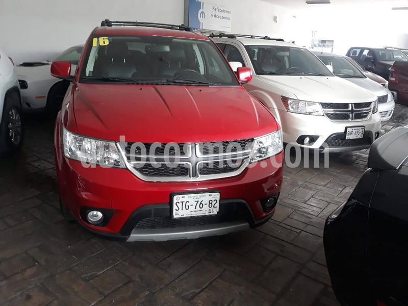 Dodge Journey SXT 2.4L 7 Pasajeros usado (2016) color Rojo precio $269,900