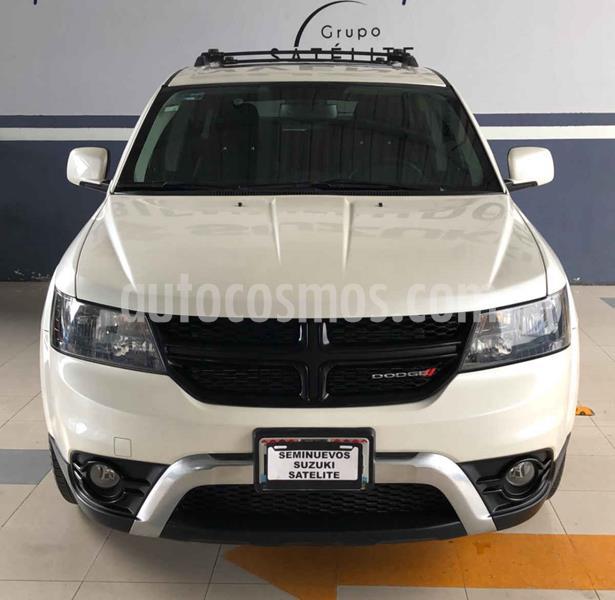 Dodge Journey SXT Sport 2.4L 7 Pasajeros  usado (2017) color Blanco precio $320,000