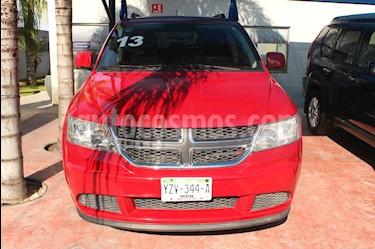 Dodge Journey SXT 2.4L 5 Pasajeros usado (2013) color Rojo precio $210,000