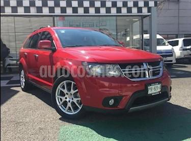 Dodge Journey 5P RT 3.6L TA 7 PAS. PIEL QC DVD GPS BL RA-19 usado (2016) color Rojo precio $320,000