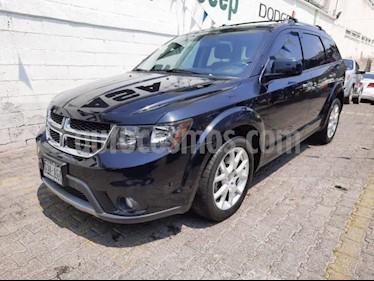 Dodge Journey 5P RT 3.6L TA 7 PAS. PIEL QC DVD GPS BL RA-19 usado (2016) color Negro precio $315,000